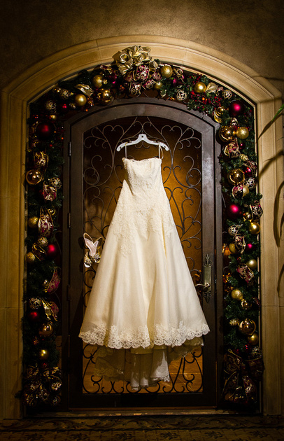 Wedding dress Royal Oaks Country Club